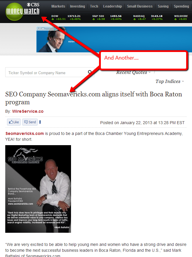 Press Release Marketing Boca Raton